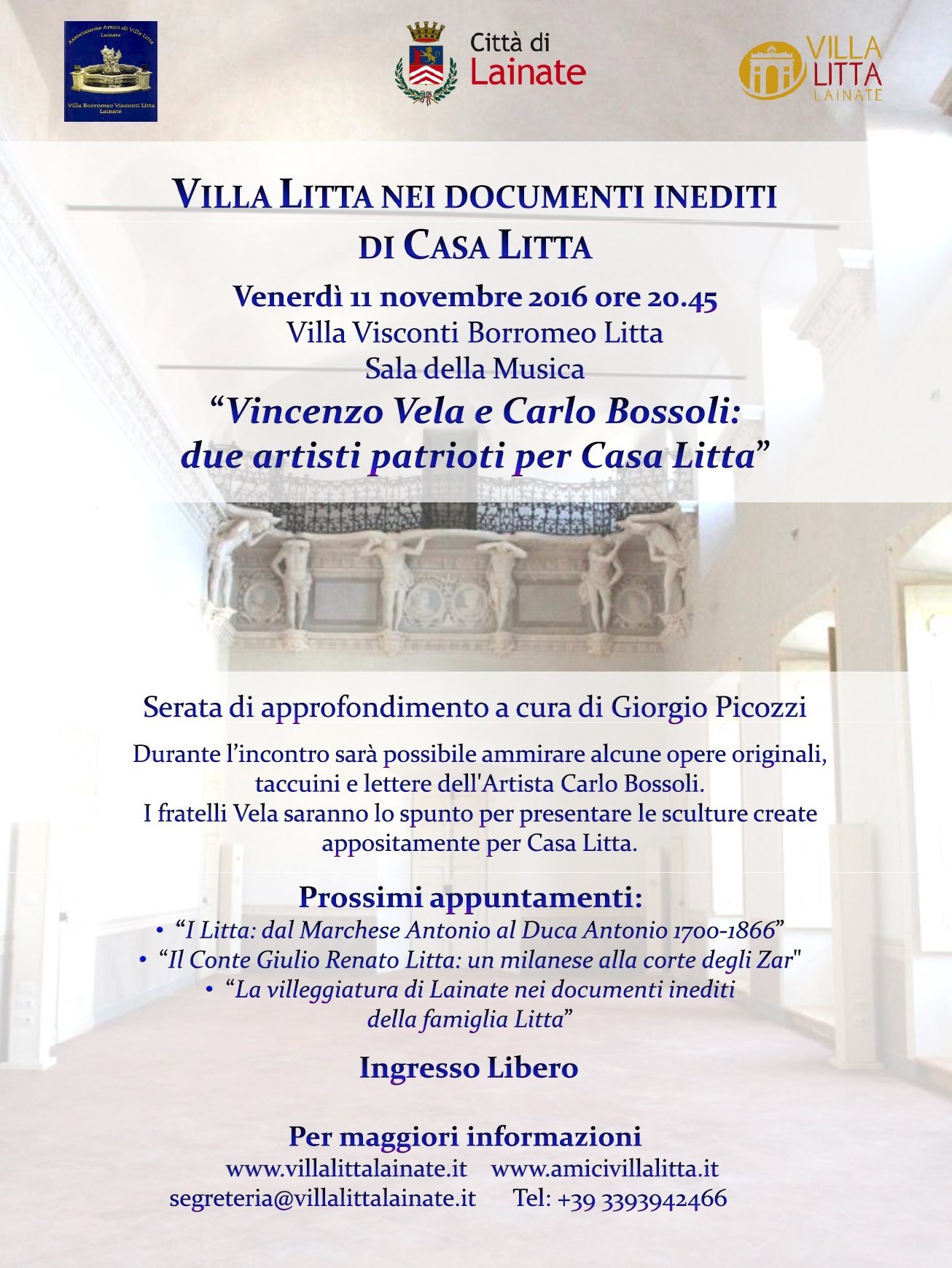 'Villa Litta nei documenti inediti di Casa Litta'