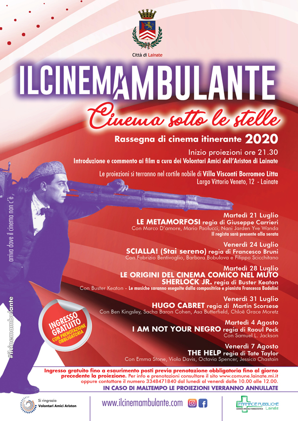 Il Cinemambulante | Cinema sotto le stelle in Villa Litta