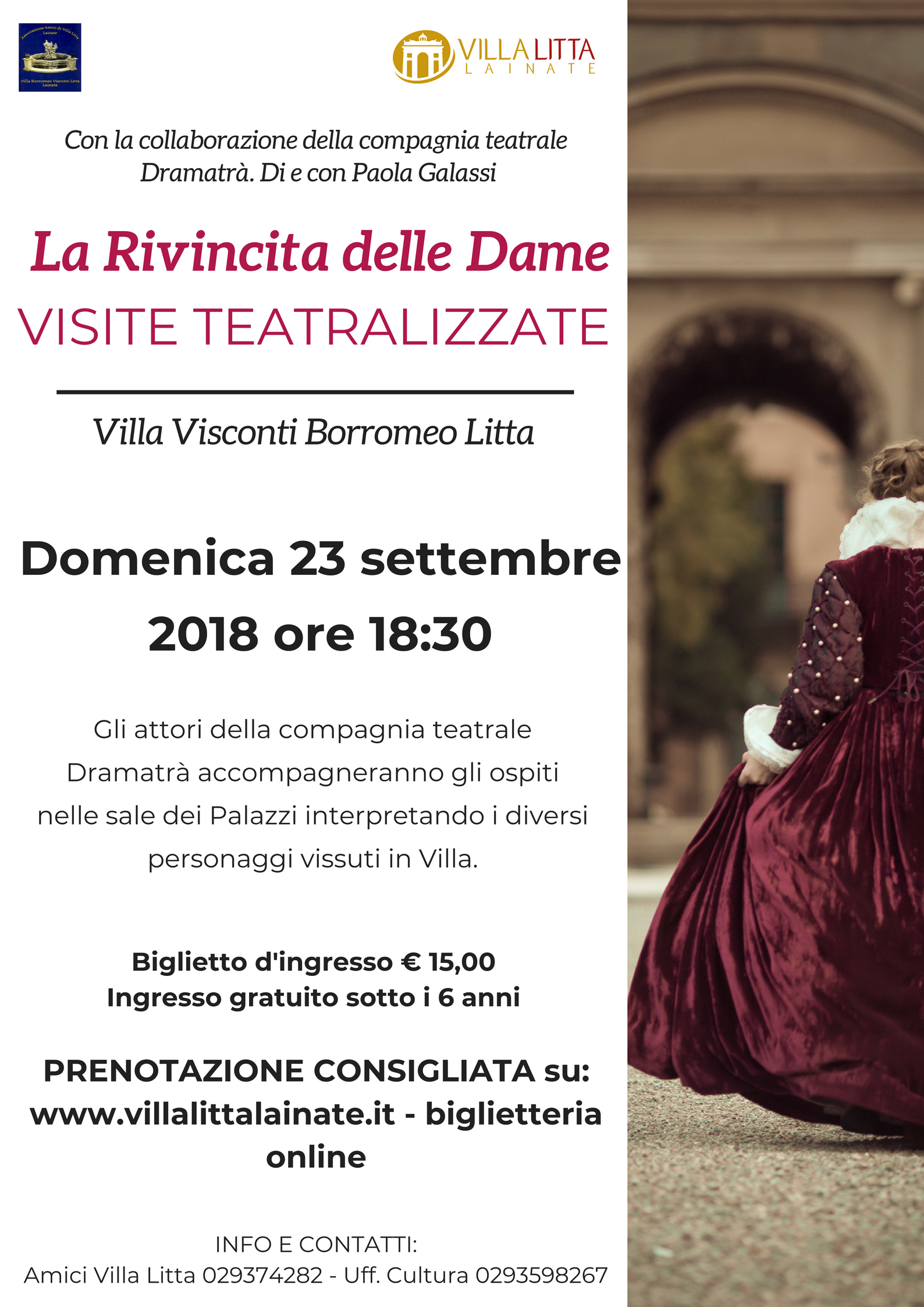 La Rivincita delle Dame - EVENTO SOLD OUT!